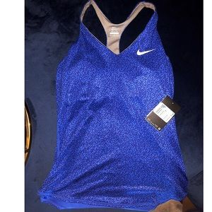 NWT Nike Womens Tank Top Tennis Print MSRP $65